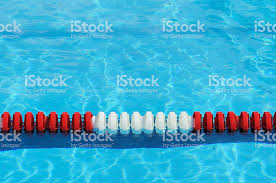 olympic swimming pool lanes. Red White And Blue Olympic Size Swimming Pool Lane Marker Royalty-free Stock Photo Lanes W