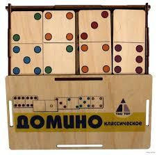 <b>Деревянная игрушка Tau Toy</b> Домино Классическое - Акушерство ...