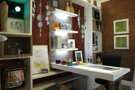 l shaped desk feng shui. Exellent Shaped Home Office With Open Shelves And L Shaped Desk In Feng Shui