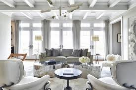 living room with mirrored furniture. White Living Room Decor With Glittering Center Table Ideas Home Inspiration Mirrored Furniture