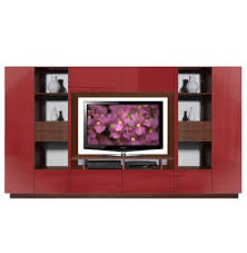 lucus entertainment wall unit w open