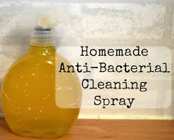 one thing i was worried about when making a cleaning spray is that it would not be antibacterial i mean how could you make a natural homemade
