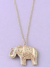 elephant pendant necklace jewelry crossed best friend simple necklaces pendants