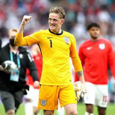 EM 2021: Woran riecht England-Torwart Jordan Pickford da?