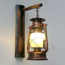 electric oil lamp wall sconce captivating kerosene wall sconce retro