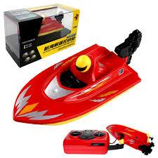 mini rc racing boat 2 4ghz bathtub toy tracer basin yacht pool motor ship