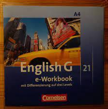 """English G 21 A4 e-Workbook mit Differenzierung auf drei ..."""" – Spiel  gebraucht kaufen – A02lkG2d41ZZH"""