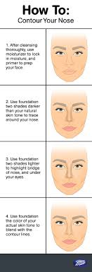 how to contour highlight nose with makeup hacks tips tricks to make nose look smaller with contouring highlighting fake nose job plastic surgery