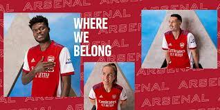 Arsenal launch new home kit for 2021/22 ...