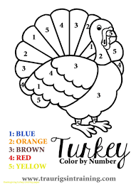 simple coloring picture of turkey thanksgiving pages with color to sheets bymber awesome already colored