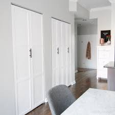 closet doors. Updated Bi-fold Doors In The Laundry Room Closet