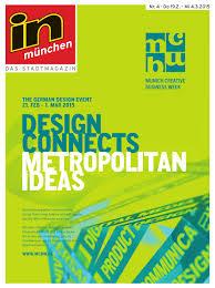 in m nchen Ausgabe 04 2015 by InMagazin Verlags GmbH issuu