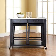 Kitchen Island Carts With Seating home styles americana black