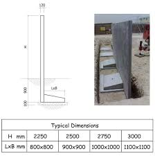 Retaining Wall Design Lego Precast Boundary Walls Retaining Walls