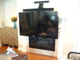 mount pull down images gallery over fireplace with metal studs com tv for aeon 50300 decor
