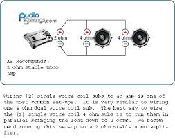 kicker comp 12 wiring diagram Kicker Dvc Wiring Diagram 2 ohm sub wiring diagram kicker dual voice coil wiring diagram