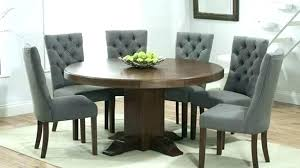 glass and dark wood dining table wooden kitchen table round wooden dining table sets dark wood