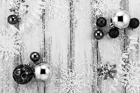 Neues Jahr Thema Weiß Und Silber Christbaumschmuck Kugeln