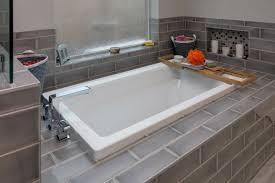 O Tempe Bathroom Design Build Contractor  Bathroom Remodel With New Tile And Dropin Bathtub