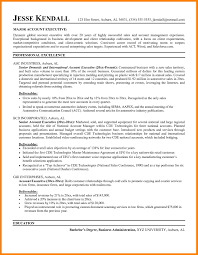 10 Account Executive Resume Letter Adress