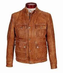 mens murano lambskin leather field coat usjacket715on