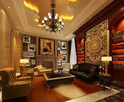 Upscale Living Room Furniture Regal White Living Room Sofa With Large Wooden Table Decors As