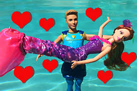 Small Picture DisneyCarToys Mike the Merman Mermaid Falls in Love With Barbie
