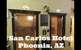 Hotel Isan Historic Us Traction Elevators Hotel San Carlos Phoenix Az