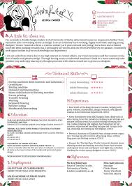 Creative Resume Cv Jessica Parker Fashion By Jswoodhams On