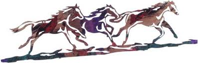 wild horses metal wall art sold out  on wild horses wall art with wild horses metal wall art sold out country rustic art home