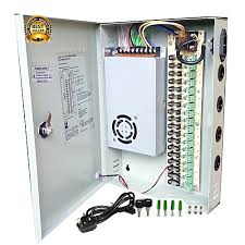 cctv 18 channel cctv power supply dc 12v with splitter fuse box fuse box 2012 vw cc cctv 18 channel cctv power supply dc 12v with splitter fuse box, power cord and fittings for security camera, led strip led display & centralized power