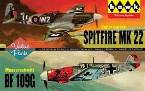 spitfire model kit. larger spitfire model kit (