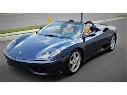 2004 Ferrari 360 Spider In Woodbridge On Daytona Auto Center Ltd Zffyt53a940135030