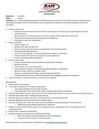 Accountant Job Profile Resume Accountant Job Description In Resume