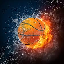 subscription l 1024x1024 basketball ball in a fire hd wallpaper 1024x1024