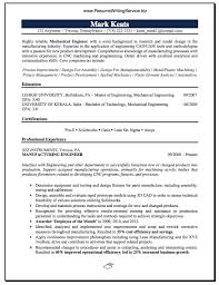 Mechanical Engineer Resume Sample University Pinterest Writing