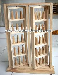Wooden Jewelry Display Stands Gorgeous Display Holders Wood Jewelry Display Jewelry Display Holders