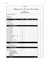 microsoft word budget template film budget template budget template free
