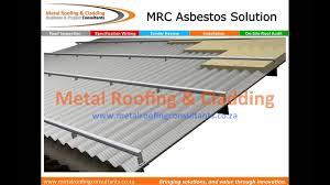 Asbestos Sheet Roof Design Asbestos Roof Refubishment Converting To Energy Efficient Roof