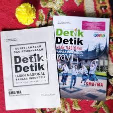 Di postingan kali ini admin akan membagikan latihan soal un bahasa indonesia smk terbaru tahun pelajaran 2018/2020 disertai kunci jawaban. Detik Detik Un Sma Bahasa Indonesia 2019 Kunci Shopee Indonesia