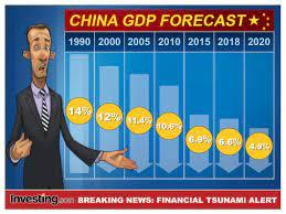 החששות מפני האטה כלכלית בסין מחריפים