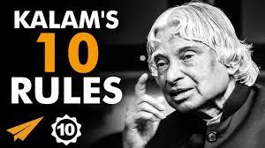 A P J Abdul Kalams Top 10 Rules For Success