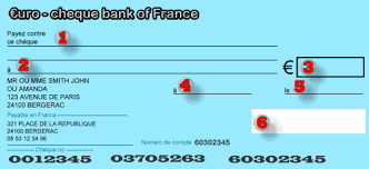 How To Fill Out A French Cheque Check Spelling And Cheque