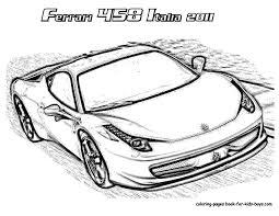 Ferrari Laferrari Coloring Pages