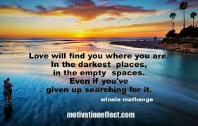 Love Will Find You Short Love Poem Motivation Effect Fascinating Motivational Poem About Love