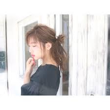 お団子ポニーアレンジ おだんご Bun Hairstyle2019 ヘア