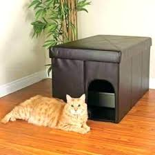 litter box furniture cat enclosed covered. Enclosed Litter Box Furniture Decorating Cat Full Size Of . Covered T