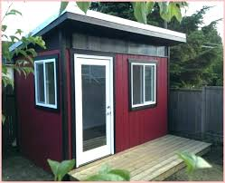 Garden shed office Diy Shed Office Ideas Studio Shed With Bathroom Prefab Office Elegant Design Ideas Previous Next Prefab Shed Office Exost Shed Office Ideas Garden Shed Office Ideas Uk Lsonline
