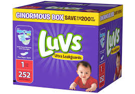 through 6 26 or while supplies last head over to sam s club to score luvs ginormous box diapers for only 19 98 regularly 26 98