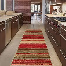 hall runner rug long hallway area carpet 20 x 59 kitchen non slip rubber